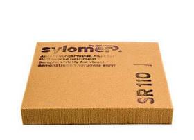 Віброізолюючий поліуретановий еластомер Sylomer SR110-25 коричневий