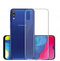 Samsung Galaxy A10 чехол Transparent