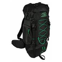 Рюкзак туристический Highlander Rambler 44 Black/Forest Green, фото 1