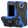 Чехол Armor Case для Motorola Moto C XT1750 Синий