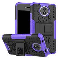 Чехол Armor Case для Motorola Moto C XT1750 Фиолетовый, фото 1
