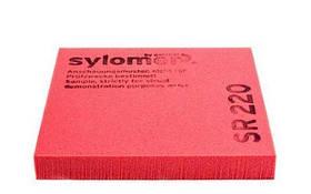 Виброизолирующий полиуретановый эластомер Sylomer SR220-25 красный