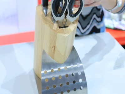 Деревянная подставка набора ножей Vinzer CANVAS 89107 (7 пр.)