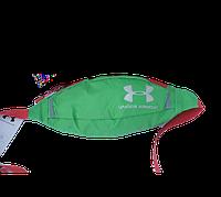 Поясная сумка Under Armour (зеленая) сумка на пояс, фото 1