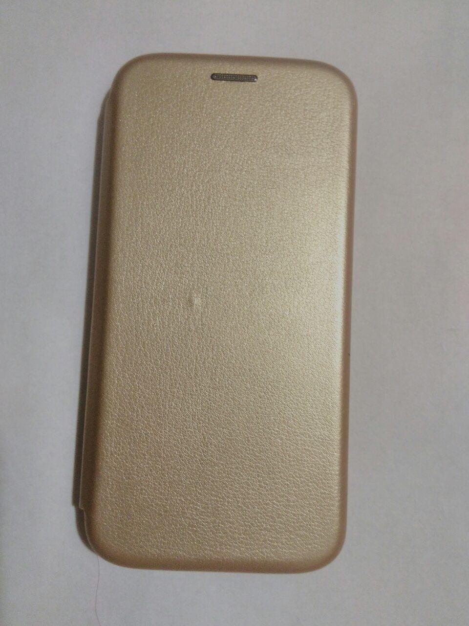 Чехол- книга Premium для Meizu X8 (золотой )