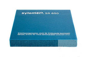 Виброизолирующий полиуретановый эластомер Sylomer SR850-12 бирюзовый