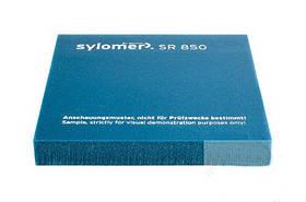 Виброизолирующий полиуретановый эластомер Sylomer SR850-25 бирюзовый