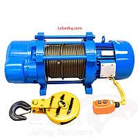 Лебедка электрическая КСD, 380 В, 750-1500 кг, Electrik Winch
