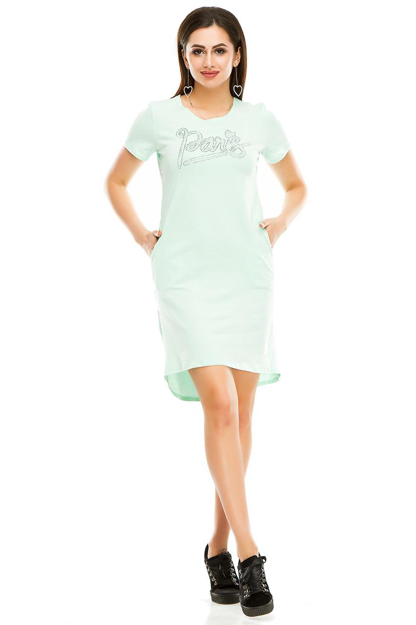 Платье 004 мята