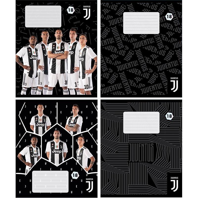 Тетрадь Kite 237 FC Juventus 18 листов линия JV19-237