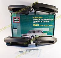 Ручки евроручки двери Ваз 2104,2105,2107, наружные Евро Тюн-Авто (к-кт 4шт), фото 1