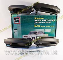 Ручки евроручки двери Ваз 2104,2105,2107, наружные Евро Тюн-Авто (к-кт 4шт)