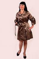 Куртки женские ,плащ,пальтоПО 011, олива бронза