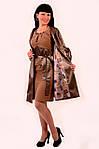 Куртки женские ,плащ,пальтоПО 011, олива бронза, фото 2