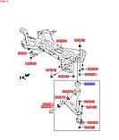 Сайлентблок переднего рычага задний, KIA Sportage 2010-15 SL, 545842t000, фото 3