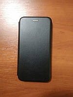 Чехол- книга Premium для Meizu  Note 8 (черный), фото 1