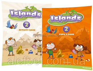 Английский язык / Islands / Pupil's+Activity Books+Pincode. Учебник+Тетрадь (комплект), 2/ Pearson