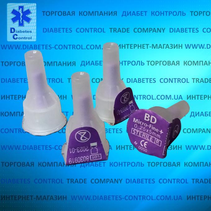 Иглы 5 мм для инсулиновых шприц-ручек Microfine / Микрофайн универсальные 10 шт.