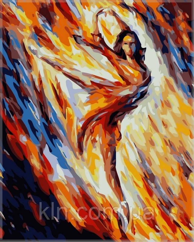 Картина по номерам Babylon Страсть и огоньVP366 40 х 50 см