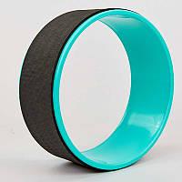Колесо кольцо для йоги Fit Wheel Yoga 8374: размер 33х13см