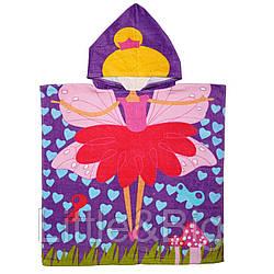 Полотенце пончо, Фея с сердечками