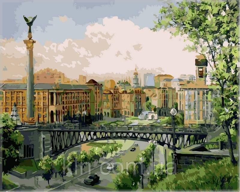 Картина по номерам Babylon Майдан НезалежностиVP369 40 х 50 см