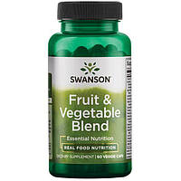 Swanson GreenFoods Formulas Fruit & Vegetable Blend 60 капс