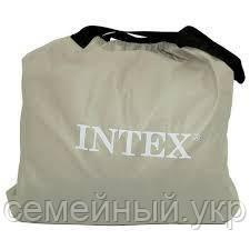 Надувной матрас. Размер 203х152х25 см. Нагрузка 236 кг. Intex 64709, фото 2