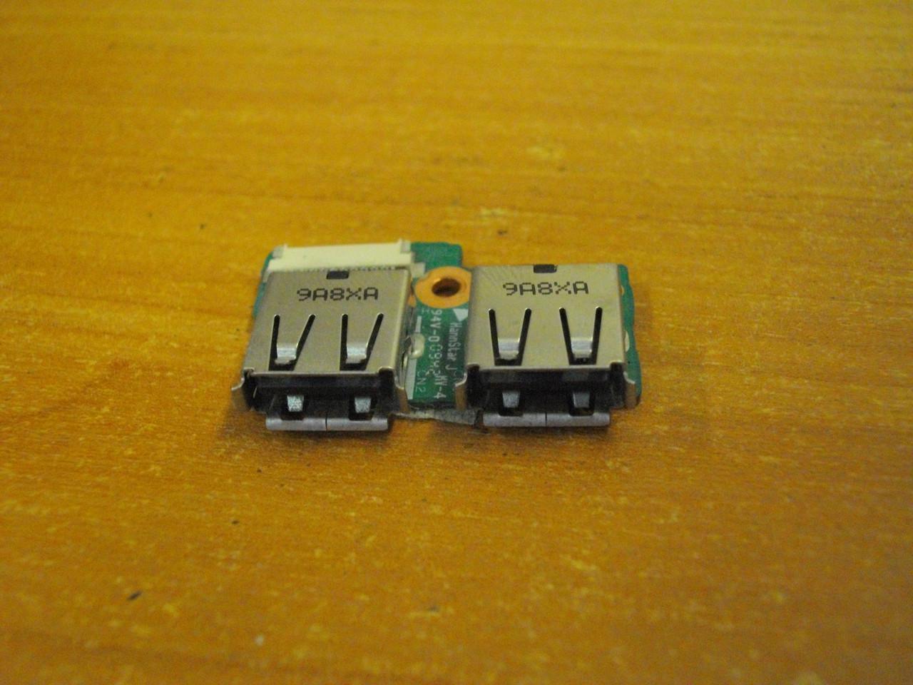 Плата с USB портами DA00P6TB6E0 HP Compaq Presario CQ61 бу