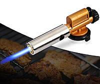 Газовая ручная горелка G803 с керамическим соплом и пьезоподжигом