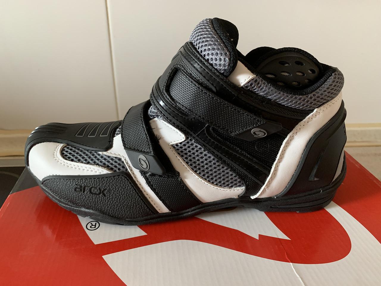Летние дышащие мото кроссовки с защитой мотоботы ARCX