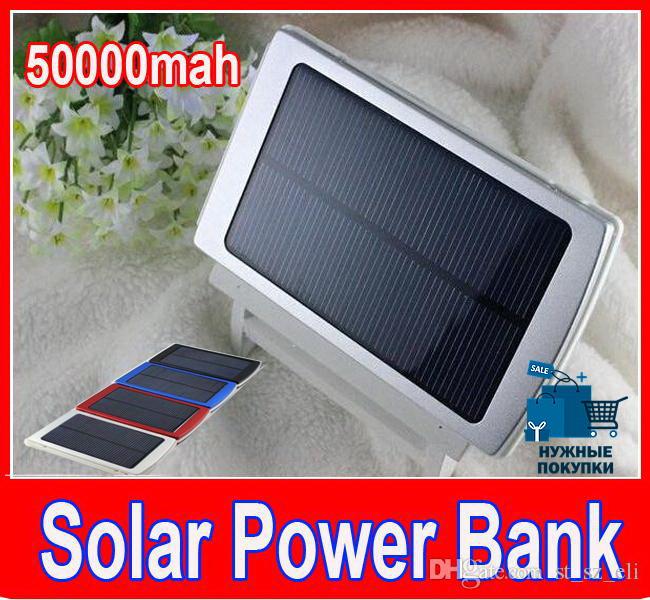 Акумулятор Павербанк на сонячній батареї Solar 50000 Mah Power bank