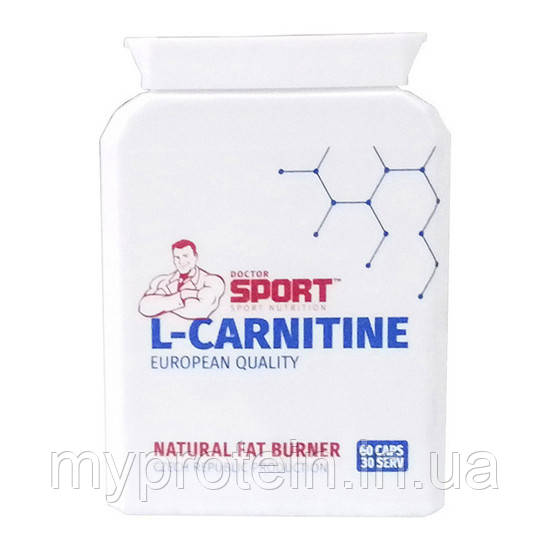 Doctor SPORTДля снижения весаL-Carnitine60 caps
