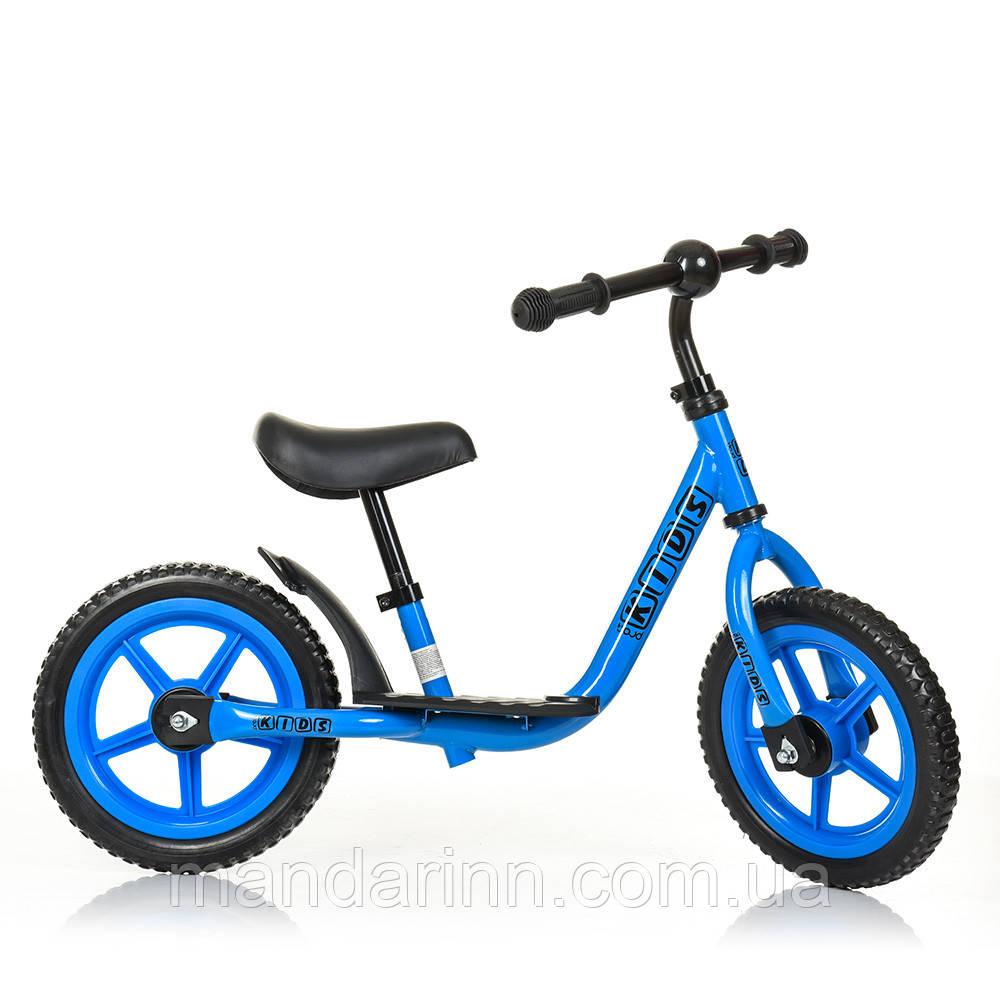 Детский беговел M 4067-3 голубой