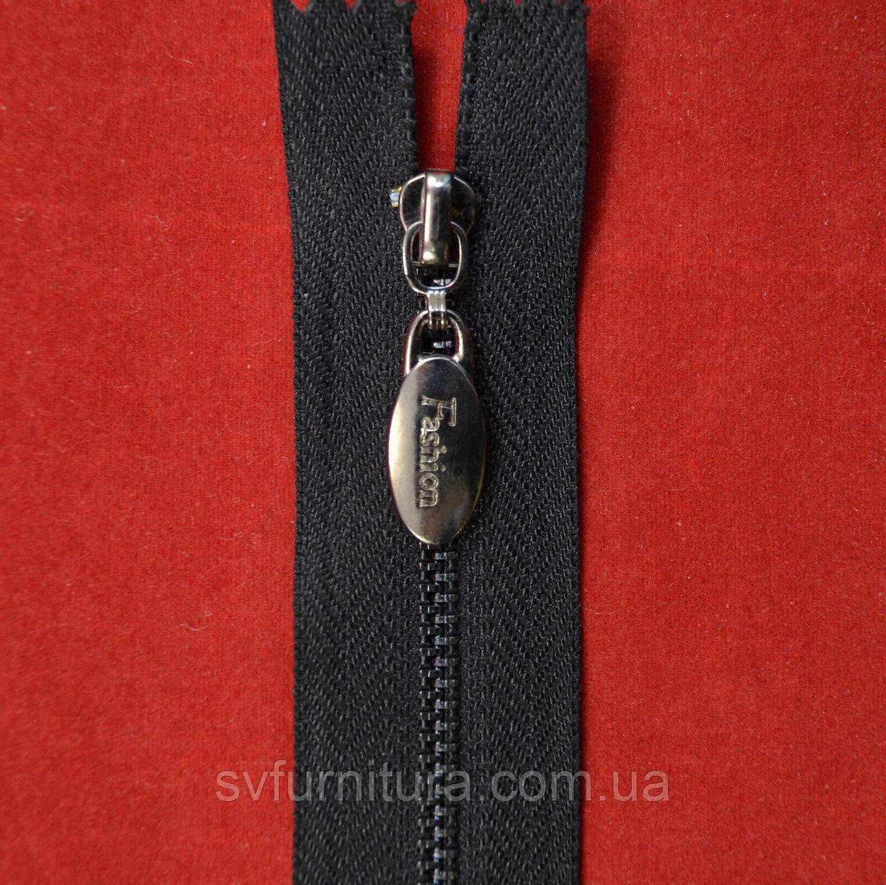 Блискавка метал 3 Fashion нікель 322 40см