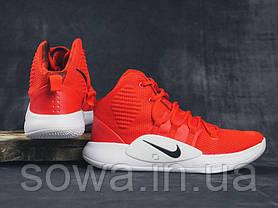 """✔️ Кроссовки Nike Hyperdunk X TB """"Red/White""""  , фото 3"""