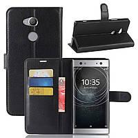 Чехол-книжка Litchie Wallet для Sony Xperia XA2 Ultra H4213 / H4233 Черный