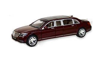 Машина Автопром металлическая 7686 Mercedes Benz Maybach. Свет. Звук. Открываются двери, капот, багажник
