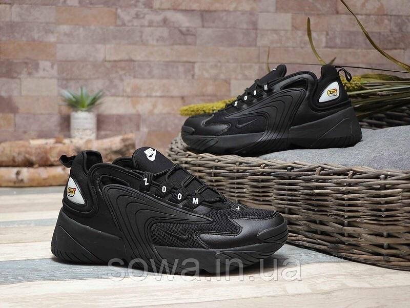 "✔️ Кроссовки Nike Zoom 2000 2K ""Black"""