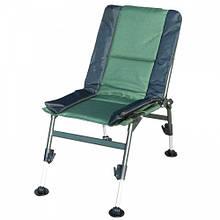 Кресло складное карповое Ranger Fish Guets (69х44х38см), зелёный/черный