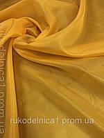 Подкладочная ткань (ш.150 см.) цвет желтый  из 100%полиэстер  170 плотность для вещей.поделок,шторок,костюмчи