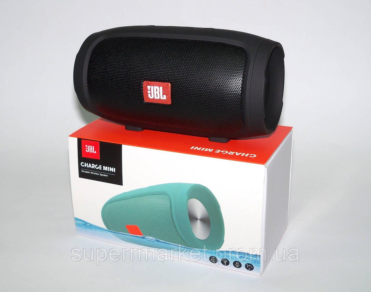JBL Charge 3 mini E3 J008 3W копия, портативная колонка Bluetooth FM MP3, черная