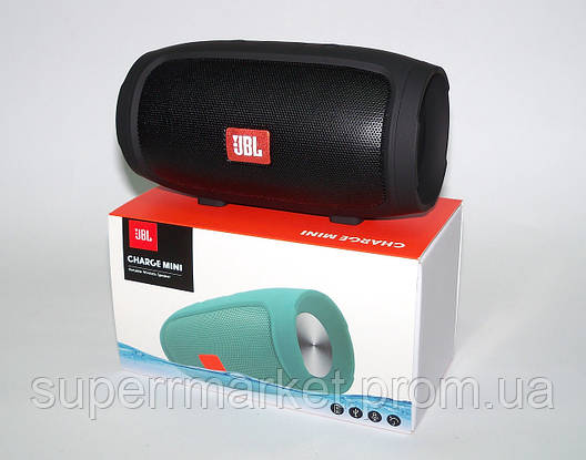 JBL Charge 3 mini E3 J008 3W копия, портативная колонка Bluetooth FM MP3, черная, фото 2