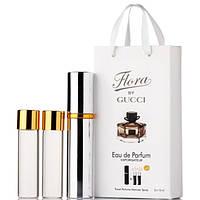 Gucci Flora by Gucci EDP 3x15ml MINI (парфюмированная вода Гуччи Флора бай Гуччи мини-флакон)