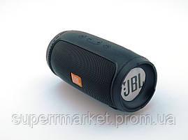 JBL Charge 3 mini E3 G11 6W копия, колонка c FM Bluetooth MP3, черная, фото 2