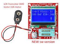 NEW! ESR LCR транзистор тестер, автоматическая проверка и определение параметров радио деталей, фото 1