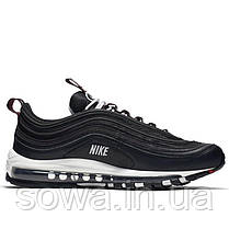 "✔️ Кроссовки Nike Air Max 97 Premium ""Black/White-Varsity Red""  , фото 3"