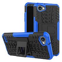 Чехол Armor Case для LG Q6 / Q6a / Q6 Plus / Q6 Prime Синий
