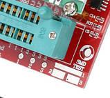 Універсальний тестер транзисторів, діодів LCR , автомат перевірка параметрів радіо деталей, фото 3