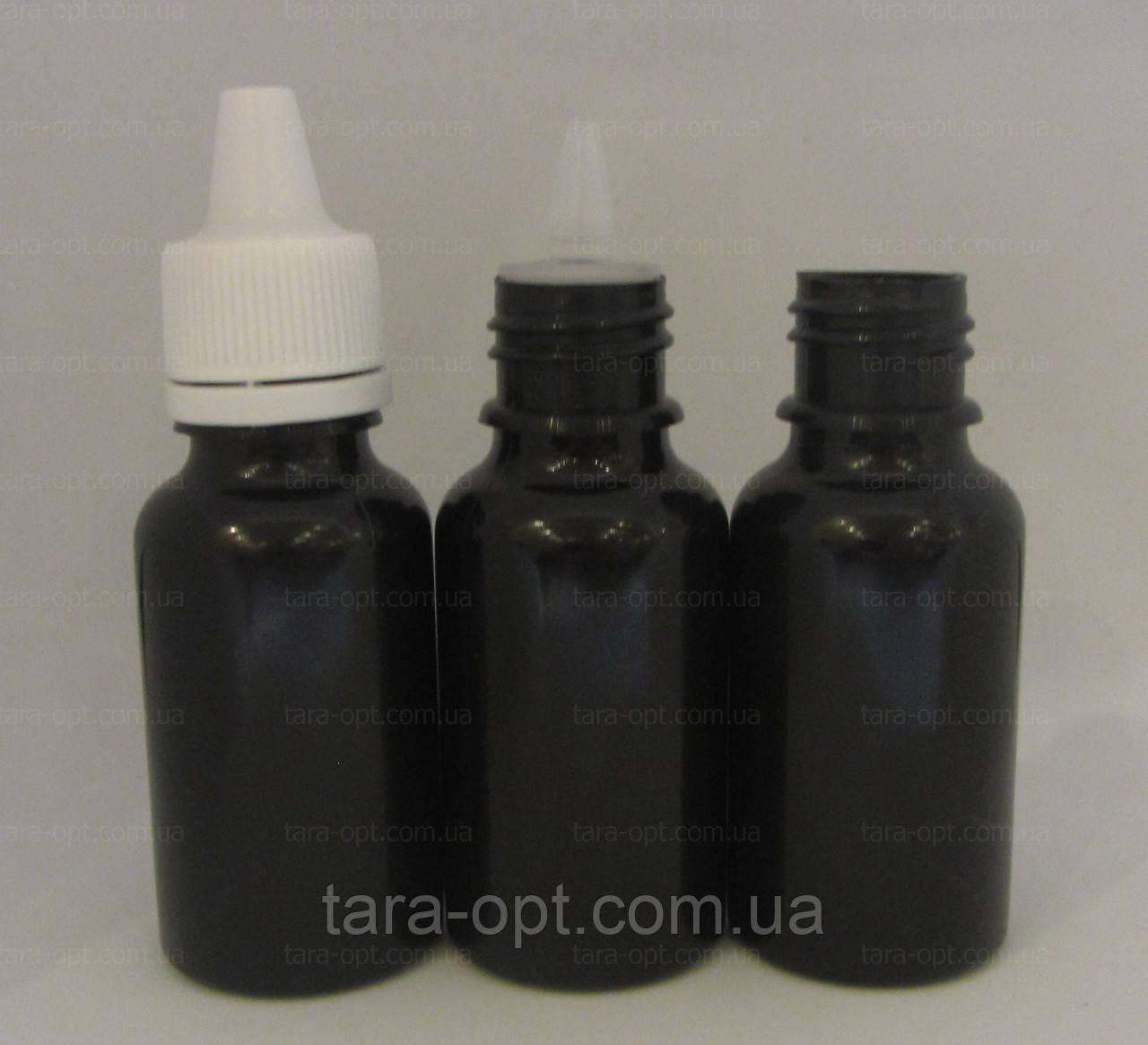 Черный флакон 30 мл-40 мл, (Цена от 3 грн)*